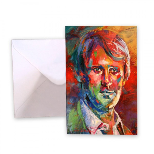 Dr Who 5 Peter Davison Greeting Card