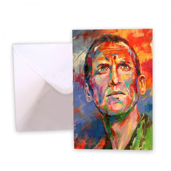 Dr Who 9 Christopher Eccleston Greeting Card
