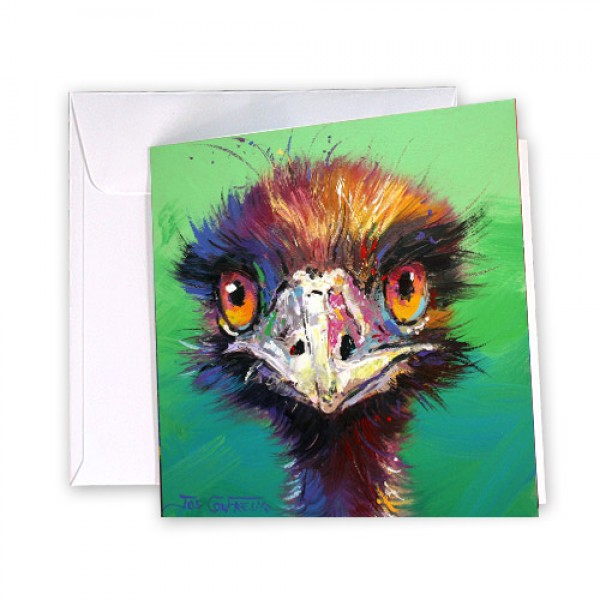 Emu 40 Greeting Card