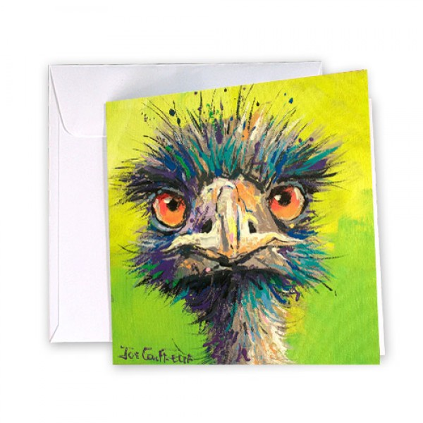 Emu 43 Greeting Card