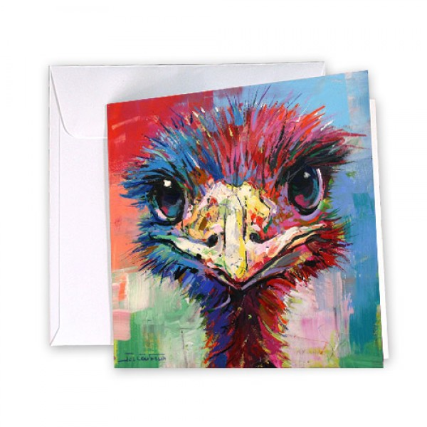 Emu 45 Greeting Card