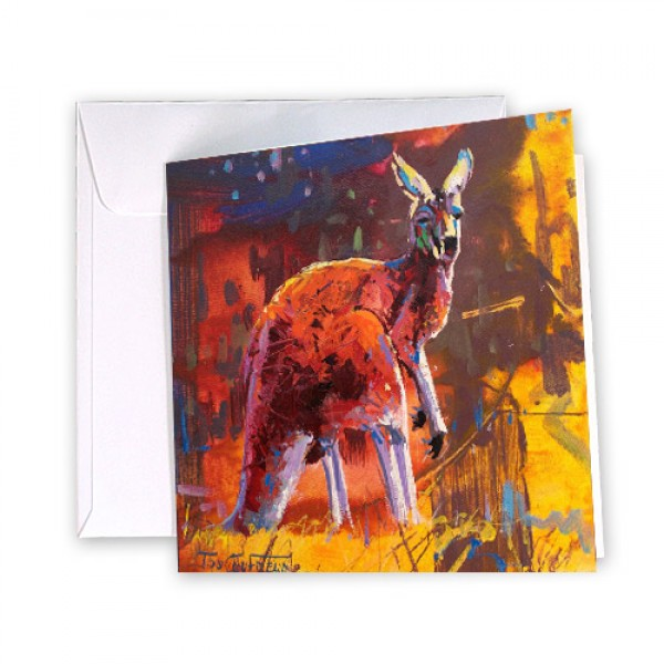 Kangaroo 6 Greeting Card