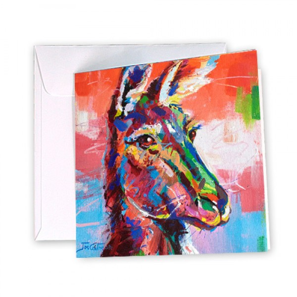 Kangaroo 5 Greeting Card