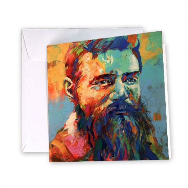 Greeting Card - Ned Kelly